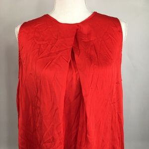 MNG NWT XL Red Womens Top